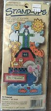 Be Prepared Stand-Ups Dimensions Cross Stitch Kit Noah's Ark #72398 NEW Made USA