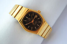 Vintage Omega Seamaster Cal.1360 Gold Plated Quartz Ladies Petite Watch 714