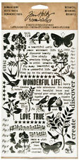 Tim Holtz Idea-ology Remnant Rubs Botanical Rub-On Transfers Ideaology