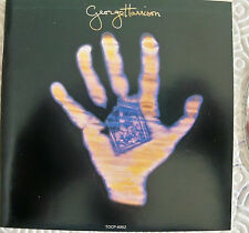 """HARRISON GEORGE """"LIVING IN THE MATERIAL WORLD"""" CD RARE JAPANESE WITH OBI BEATLES"""