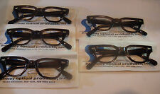 Vintage 5 pc. Pathway Opt. Challenger D. Amber 38/20 KIDS Eyeglass Frame Lot NOS