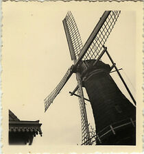 PHOTO ANCIENNE - VINTAGE SNAPSHOT - MOULIN À VENT AILES DÉTAIL - WINDMILL WINGS