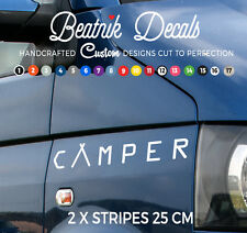 T5 T4 T25 CAMPER Van Sticker Decal, Vinyl Graphic, Funky Window, Wing Sticker
