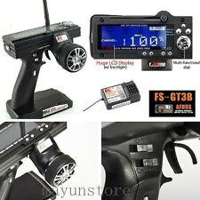 Flysky FS-GT3B 2.4G 3CH Transmitter +Receiver for RC Car Vehicle Radio ControlMG