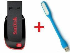 Sandisk 32GB Cruzer Blade Pendrive + USB LIGHT (combo) + Warranty...
