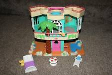 Fisher Price Sweet Streets Beach House Dollhouse Doll Toys Set Lot Bed Table