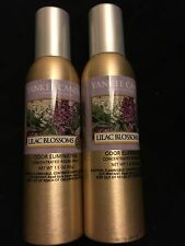 2 Yankee Candle Lilac Blossoms 1.5 oz Room Sprays - free Shipping