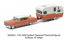 GL HITCH & TOW 1955 CADILLAC FLEETWOOD SERIES 60 & SHASTA AIRFLYTE IN STOCK