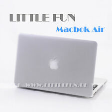 "Macbook Hülle Hard Case mit Logo Cover für Apple Macbook Air 11 "" Schutz Weiss"