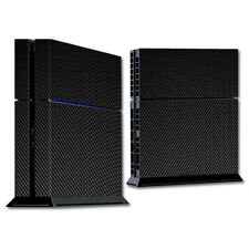 Skin Decal Wrap for Sony PlayStation 4 PS4 Console sticker Carbon Fiber
