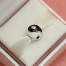 * AUTHENTIC PANDORA CHARM YIN AND YANG #790488CZ RETIRED