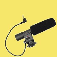 JJC mic-1 aufsteck-Microfono per Nikon d7000 d5100 d3s d300s 3,5mm jack standard