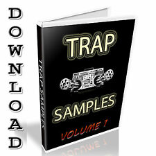 TRAP SAMPLE COLLECTION - WAV FILES - LOOPS + SINGLE SHOTS - 7.8GB - DOWNLOAD