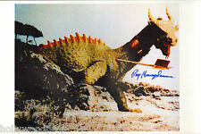 RAY HARRYHAUSEN SIGNED THE 7TH SEVENTH VOYAGE OF SINBAD PHOTO POSTER AUTOGRAPH