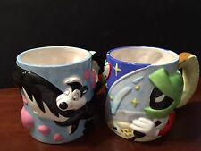 Marvin the Martian & Pepe Le Pew Collectible Mugs