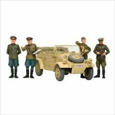 Tamiya 25153 1/35 WWII Russian Commanders & Staff Car Set 4 figures from Japan