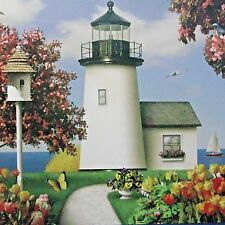 jigsaw puzzle THE GLORY OF LIFE lighthouse Alan Giana Artist Collection NEW