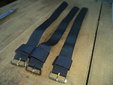 19 mm Bulk lot 3 Vintage Stylecraft NOS Original 1960 wrist straps watch band