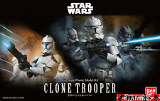 Clone Trooper Star Wars Scale 1/12 Model Kit Figure Bandai Japan
