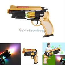 Fun Electric Shock Gag Gun Toy Musical Light Prank Trick Party Children Toy Gift