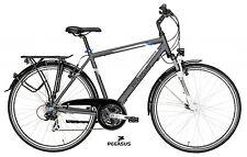 Herren Trekking Fahrrad Pegasus Piazza 28 Zoll 58cm Shimano 21G Alu grau 2017