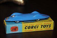 "Vintage Corgi Toys / MIB / Proteus - Campbell - "" Bluebird "" Record Car / 153"
