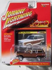 `81 Jeep Wagoneer Dark-RED 1981 *RR*  Johnny Lightning Classic Gold 1:64 RAR+OVP