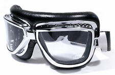 Motorcycle Glasses Google Ski Aviator Shades Chrome Sports Cabriolet