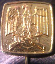 ✚2523✚ German Shooting Federation SCHUTZENBUND pin badge post WW2 issue