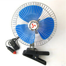 Looking 12Volt 6Inch Car Cooling Fan with Clip Switch Outdoor Camping Vogue DSUK