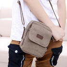 Vintage Canvas Small Cross Body Messenger Shoulder Classic Military Bag New
