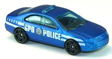 LOOSE Police Ford Fusion from the 2012 Hot Wheels Batman Dark Knight 5 Car Pack