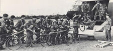 7x5 Gloss Photo wwB12 Normandy Invasion WW2 World War 2 Bicycles