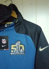 NFL Super Bowl 50 Nike Therma-Fit Pullover Jacket Hoodie: Large (New With Tags)
