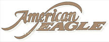 American Eagle RV LOGO Graphic Lettering decal 5th Wheel