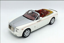 1:18 Kyosho Rolls-Royce PHANTOM White Convertible Die Cast Model