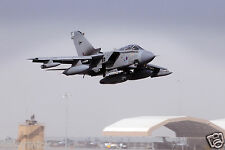 Royal Air Force RAF Tornado GR4 Takes off Airfield Middle East 12x8 Inch Photo