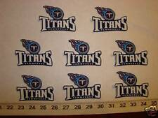 8 Tennessee Titans Fabric Applique Iron On Ons