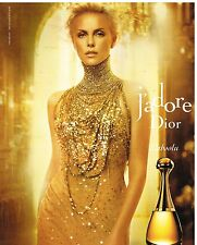 Publicité Advertising 2012 Parfum J'adore Dior avec Charlize Theron