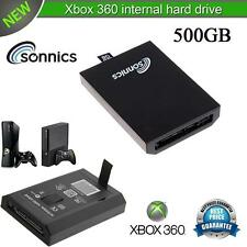 SONNICS 500GB INTERNAL HARD DRIVE FOR MICROSOFT XBOX 360 SLIM BRAND NEW