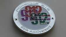 Porsche badge 1.6 912 anniversary grill badge vintage emblem badge swb badge