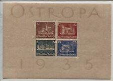 Deutsches Reich Block 3 mit Gummierung und Schutzpapier  (B03759)