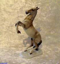 Rosenthal Porzellanfigur Steigendes Pferd Höhe ca. 24 cm, Sockel ca. 12,5x7,3 cm
