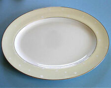 """Waterford China BALLET BLOSSOM Serving Platter Oval Large 15.5"""" Made in UK New"""