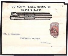 MS3182 GB ADVERTISING POSTAL STATIONERY *Drainage* RARE Illustrated Wrapper Fine