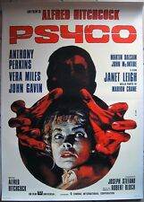 Poster Manifesto ORIGINALE - PSYCO - Alfred Hitchcock - Perkins-Leigh 70x100cm