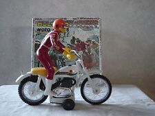 BULTACO ALPINA FRICTION DRIVE TOY  NEW IN BOX YEAR 1970's