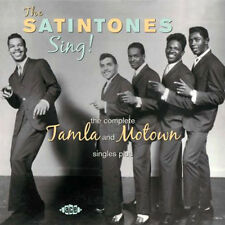 "THE SATINTONES  "" SING THE COMPLETE TAMLA AND MOTOWN SINGLES PLUS""  26 TRACKS"