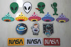 Alien ET UFO Extraterrestrial UFO NASA iron on patch applique kids cute pretty