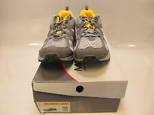 MOUNTREK Mens HORIZON TRAIL Gray/Yellow Running Shoes US 12; EU 46 (I4049)